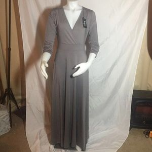 Sue & joe full length dress NWT